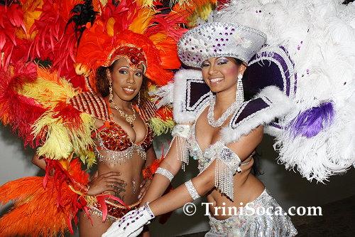 Models present Fire Bird and Fancy Sailor