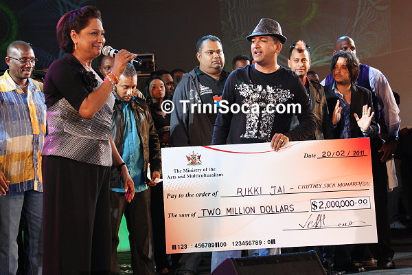 Chutney Soca Monarch Competition 2011