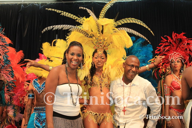 Ronnie and Caro 2013 Carnival Band Launch: Mystery of the Cascadura