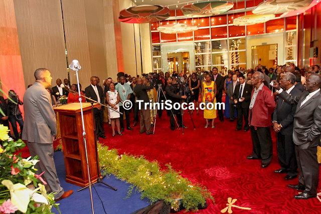 President's 2014 Calypso Reception