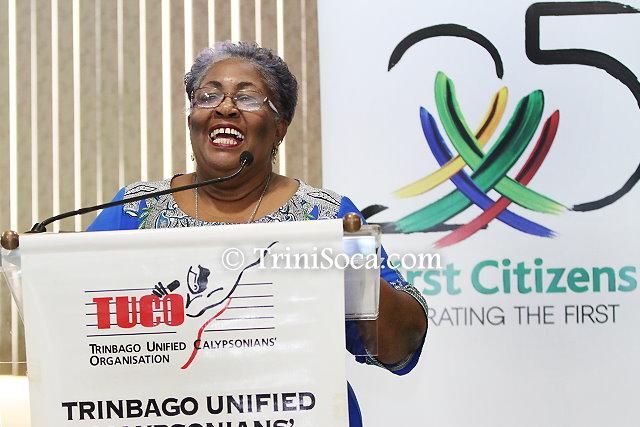 Chairman of the Junior Calypso Committee, Ms. Thora Best