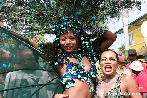 Wendy Fitzwilliams during Carnival 2007. Photo: TriniSoca.com