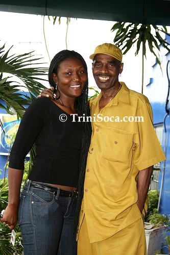 Kelvin 'Mighty Duke' Pope and his wife Rebecca